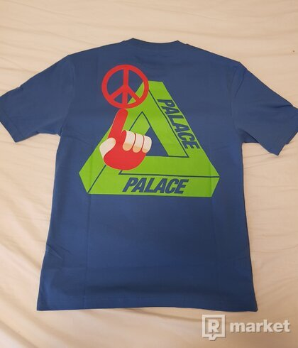 Palace Tri-Smiler Tee Blue