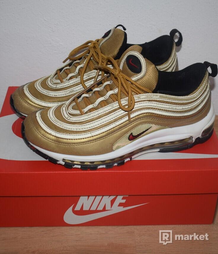 Nike Air Max 97 OG QS Metallic gold/varsity red