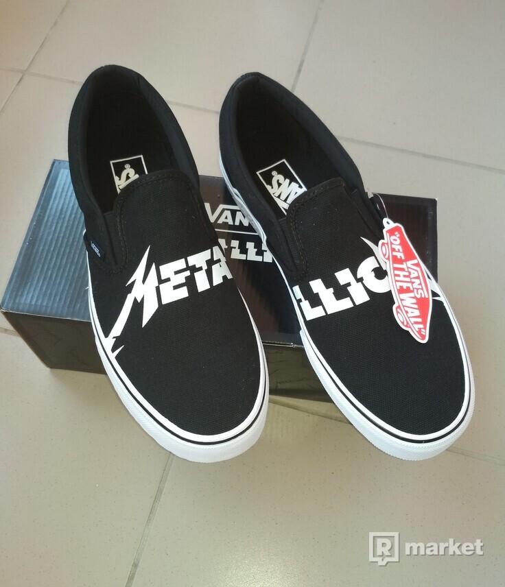 Vans x Metallica slip-on 2018