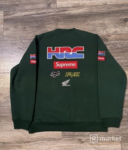 Supreme Honda Fox Racing Crewneck