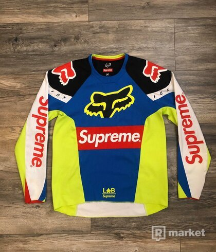 Supreme X Fox racing jersey