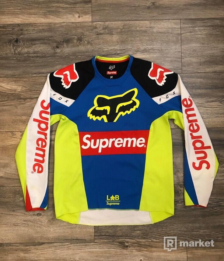 Supreme X Fox racing jersey