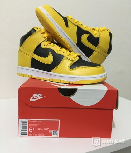 Nike Dunk High Varsity Maize [39]