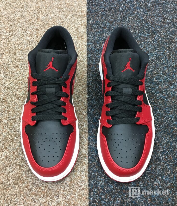 Nike Air Jordan 1 Low Reverse Bred