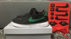 AIR FORCE 1/1 Black/Chile-red