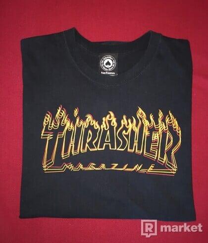 THRASHER FLAME TEE