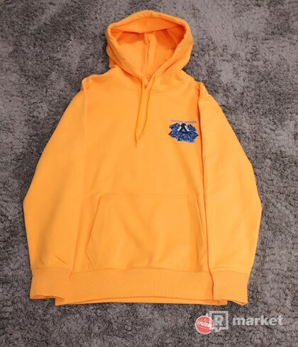 Palace Getting Higher Hoodie Orange