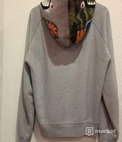Bape Shark Half Zip hoodie