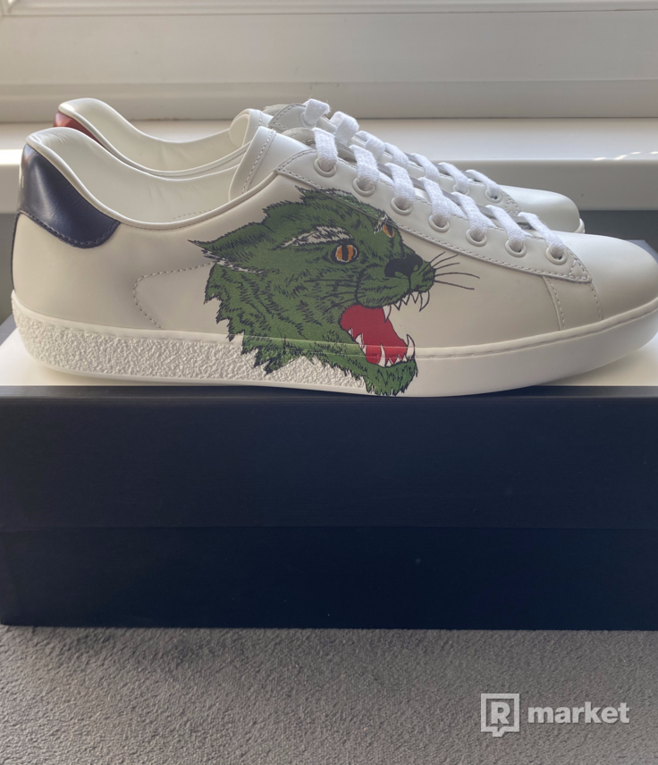Gucci Ace Panther Sneakers