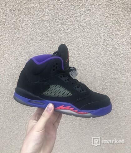Jordan 5 Fierce Purple