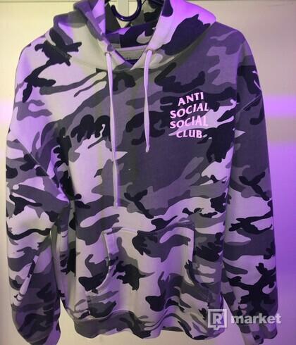 Anti Social Social Club Hoodie (camo)