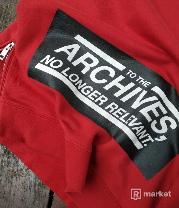 Raf simons archives crewneck
