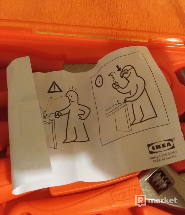 Virgil abloh x IKEA 'homework' '' tool kit