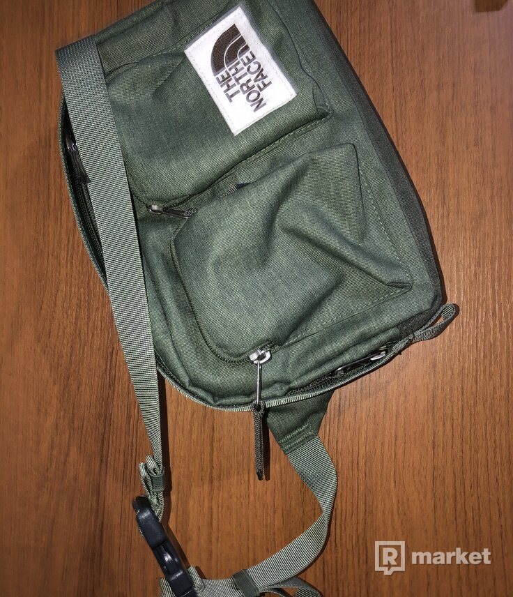 The north face shoulder bag