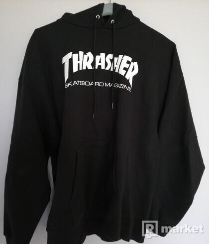 Thrasher hoodie Black  veľkosť-L
