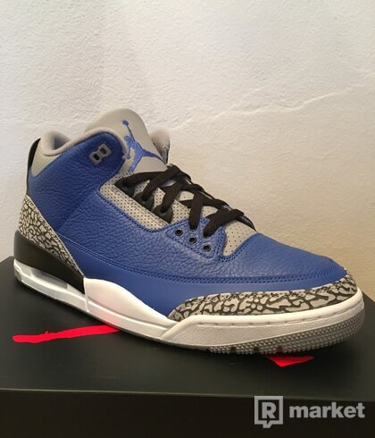 "Jordan 3 Retro ""Royal Cement"""