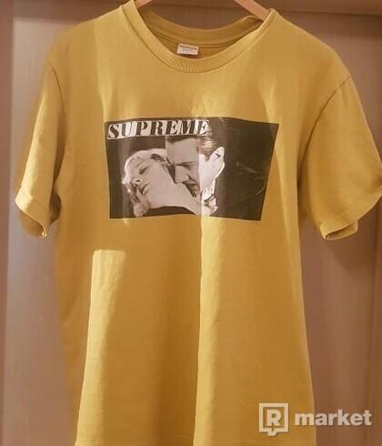 Supreme Bela Lugosi tee (acid yellow)