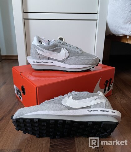 "Nike Sacai Fragment Waffle - ""Light Grey"""