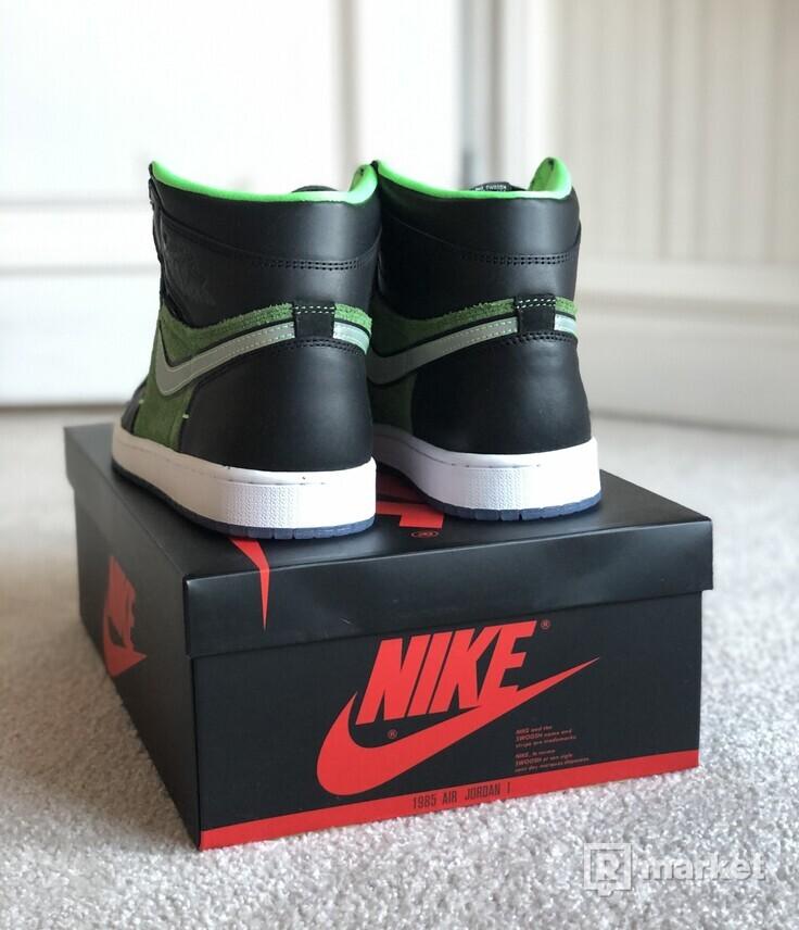 Jordan 1 Zoom Black Green
