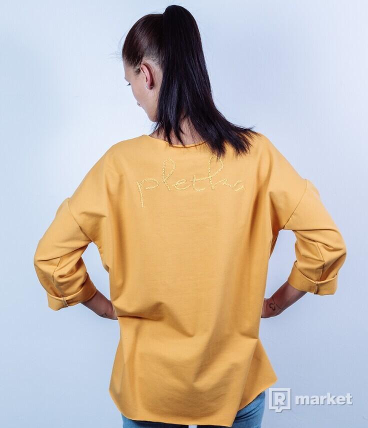 Žltá mikina