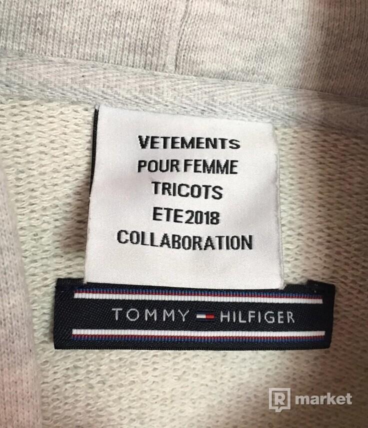 Vetements Tommy Hilfiger Logo hoodie