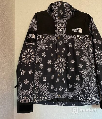Supreme The North Face Bandana Jacket F/W 14
