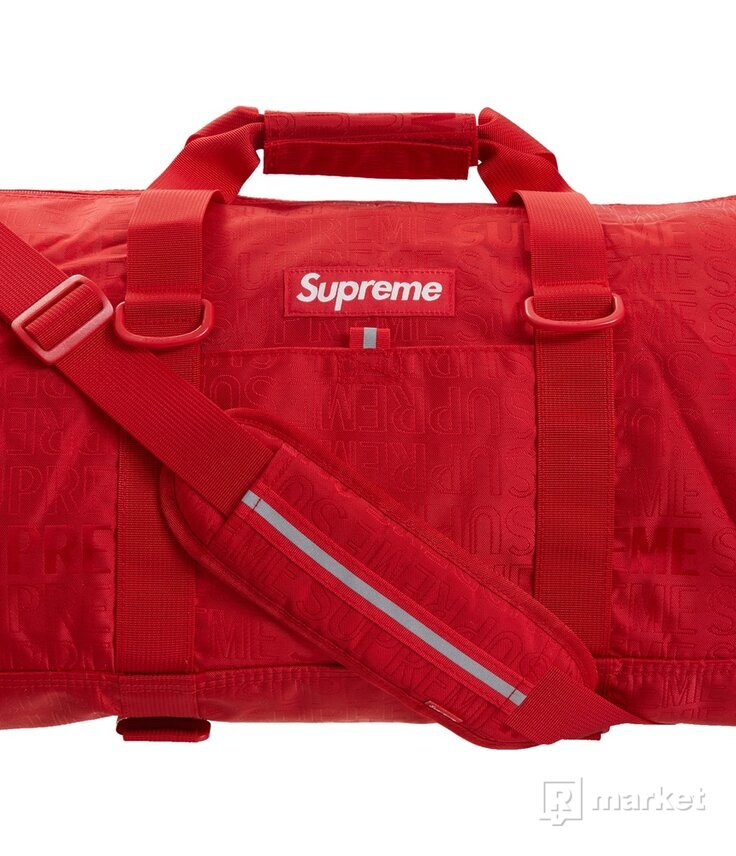 Supreme Duffle Bag 019 /red/