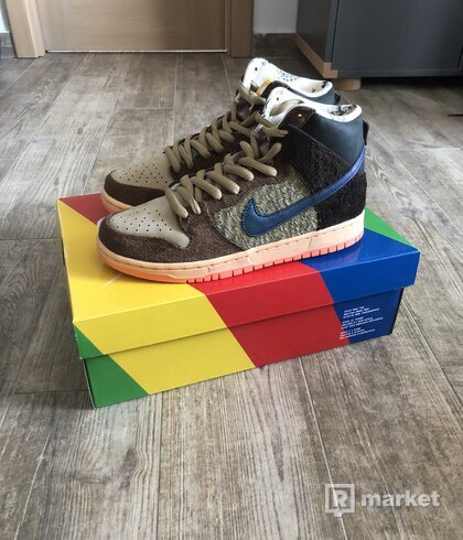 Nike SB Dunk High Concepts Turdunken