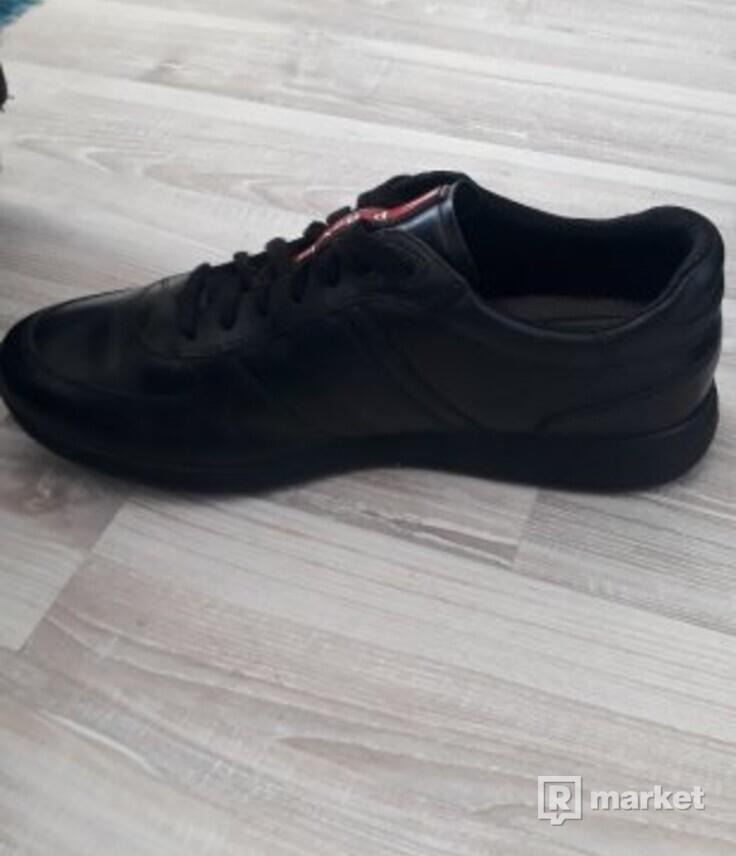 PRADA - pánske kožené topánky  cd984831392