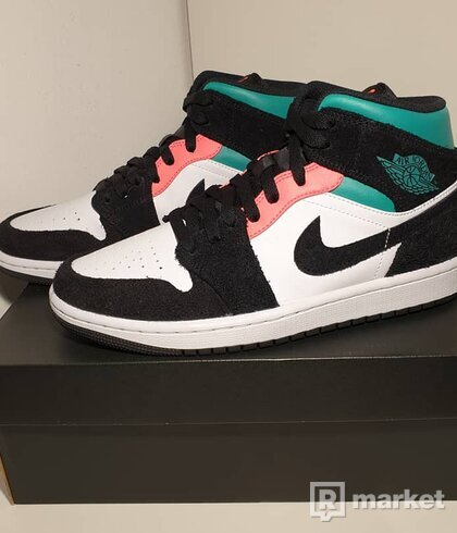 Jordan 1 Mid Se South Beach