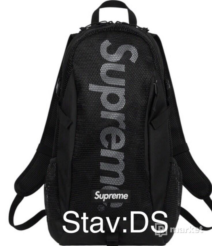 Supreme backpack FW20 Black DS
