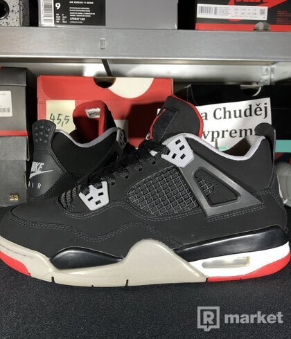 "Air Jordan Retro 4 OG ""Bred"" GS"