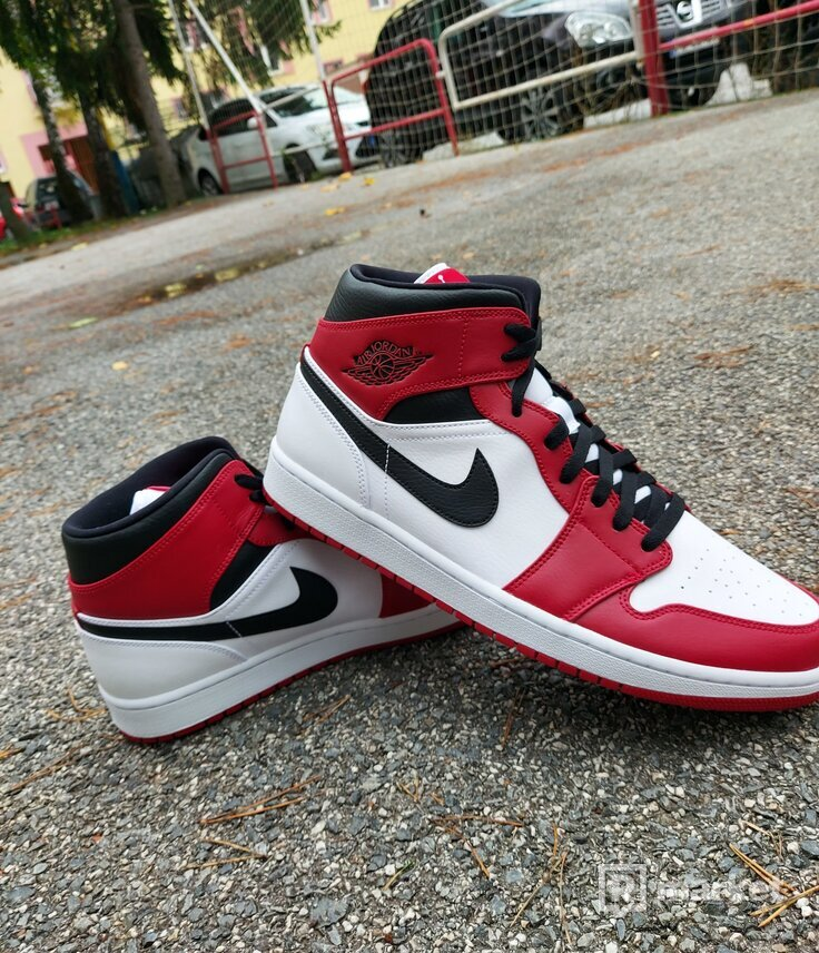 Air jordan 1 Chicago 2020 (White heel)