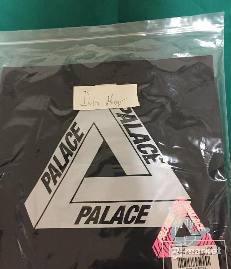 Palace TRI-ZOOTED SHAKKA BLACK