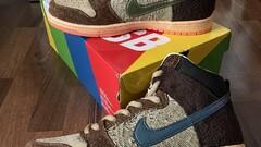 "Nike Sb Dunk High X Concepts - ""Turdunken"""
