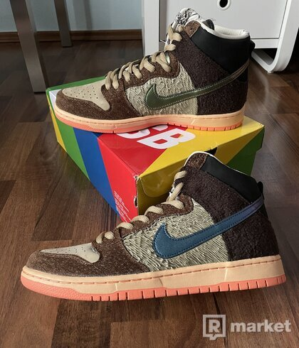 "Nike Sb Dunk High X Concepts - ""Turdunken"""