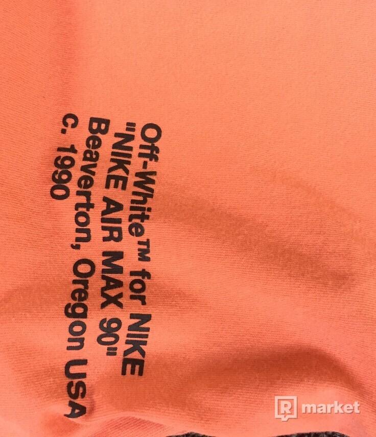 Nike x Off White A6 mango tee