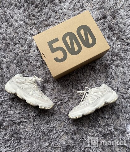Yeezy 500 Bone white Us 7