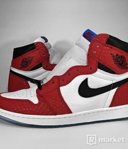 "Air Jordan Retro 1 High OG ""Spiderman - Origin Story"""