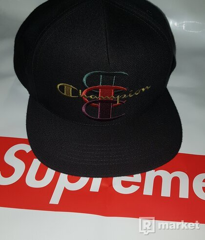 Supreme X Champion 5 Panel Hat