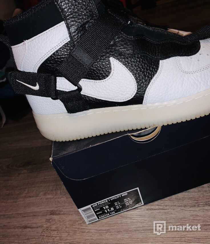 Nike air force 1 utility mid off-white 44