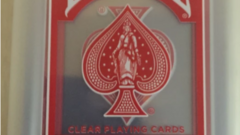 Supreme x Bicycle Clear Playing Cards