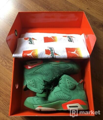 "Air Jordan 6 NRG Getorade ""Green"""