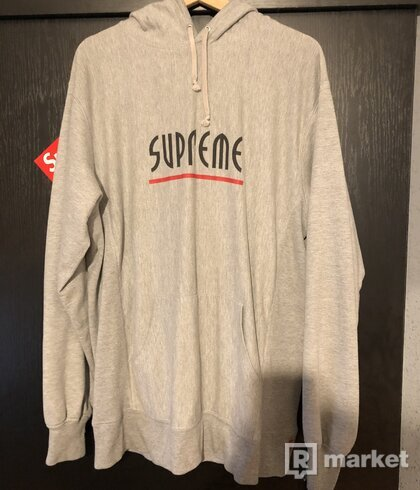 supreme riot ss14 hoodie