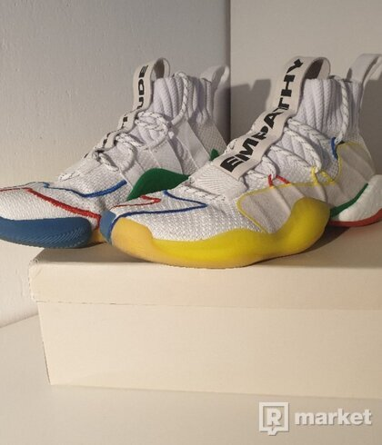 Adidas Crazy BYW Level x Pharell White