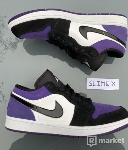 Air Jordan 1 Low Court Purple 1.0