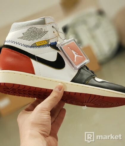Jordan 1 Union Black Toe