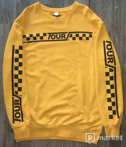 H&M JUSTIN BIEBER PURPOSE TOUR CREWNECK
