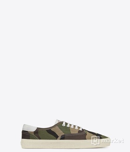 Yves Saint Laurent - camo shoes