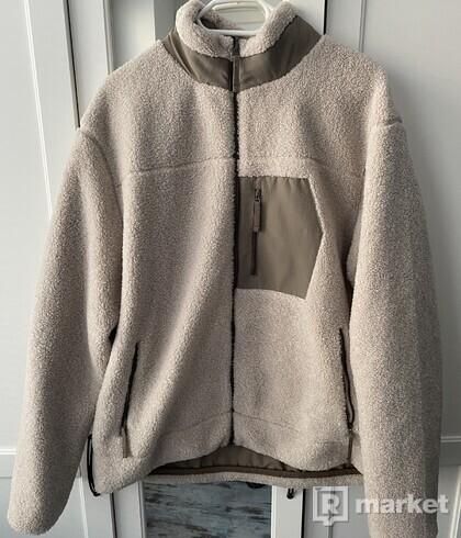 Zara fleece jacket obojstranná
